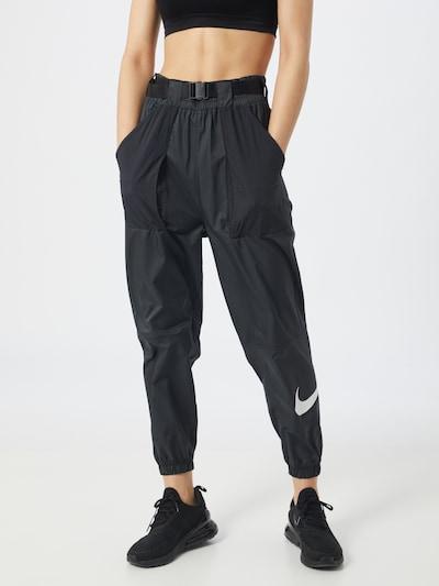 Nike Sportswear Hlače | črna barva, Prikaz modela