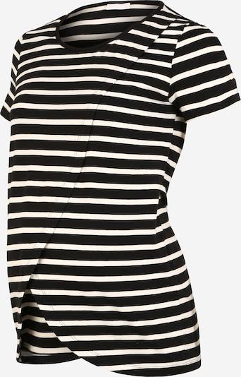 MAMALICIOUS Shirt 'MLOLINA IRIS' in schwarz / weiß, Produktansicht
