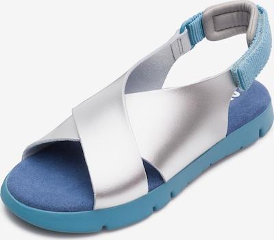 CAMPER Sandalen ' Mira ' in hellblau / silber, Produktansicht