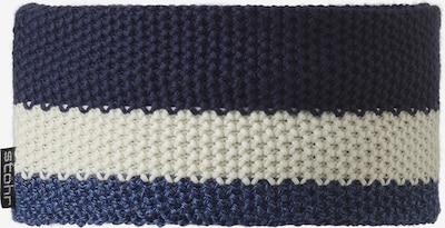 STÖHR Stirnband 'VAPO' in blau / violettblau / weiß, Produktansicht