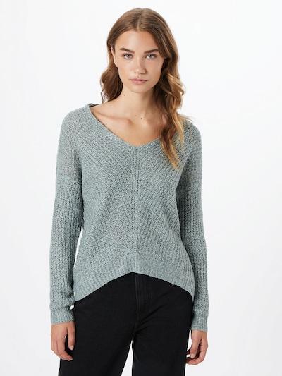 JACQUELINE de YONG Pullover 'Megan' in rauchblau, Modelansicht