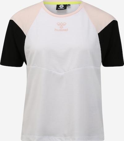 Hummel Shirt 'ROBIN' in rosa / schwarz / weiß, Produktansicht