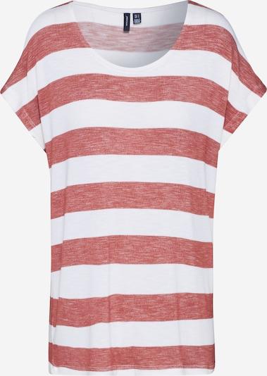 VERO MODA Shirt in rot / weiß, Produktansicht