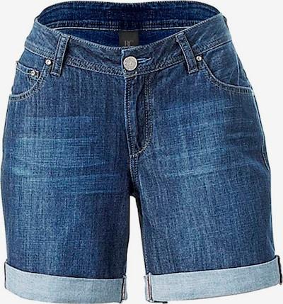 heine Jeans i blå: Sedd framifrån