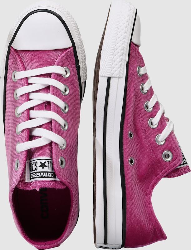 CONVERSE Samt-Sneaker 'Chuck Taylor All Star ox'