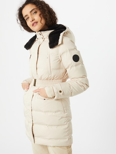Pepe Jeans Winter coat 'Moli' in beige, View model