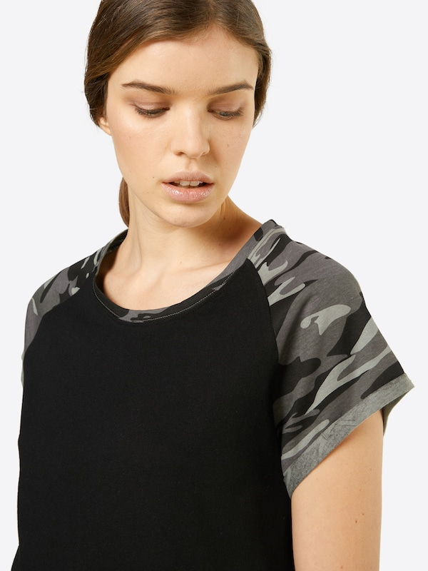 Urban Classics T-Shirt 'Ladies Contrast Raglan'