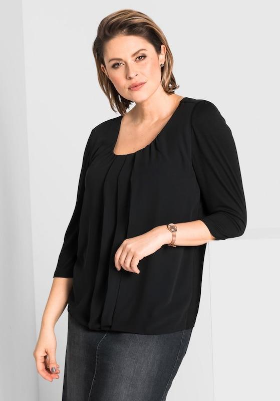 Style 3/4-bras-chemise De Style De Sheego