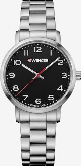 WENGER Montre à affichage analogique 'Avenue' en noir / argent, Vue avec produit