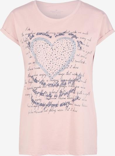 Cross Jeans Shirt in taubenblau / pastellpink, Produktansicht