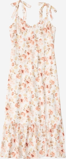 Abercrombie & Fitch Ljetna haljina u roza / bijela, Pregled proizvoda