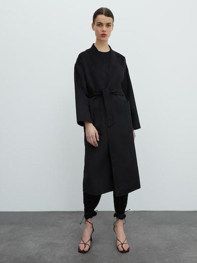 Rudeninis-žieminis paltas 'Sydney' iš EDITED , spalva - juoda, Modelio vaizdas