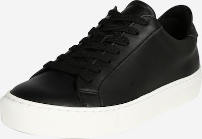 Garment Project Ниски сникърси 'Type' в черно / бяло, Преглед на продукта
