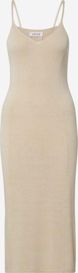 EDITED Kleid 'Nela' in beige / weiß, Produktansicht