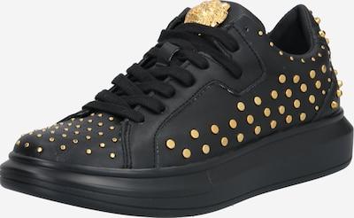 GUESS Sneakers laag 'Salerno' in de kleur Goud / Zwart, Productweergave