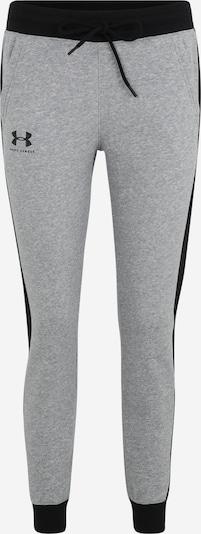 UNDER ARMOUR Sporthose in grau / schwarz, Produktansicht