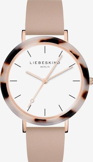 Liebeskind Berlin Analoog horloge in de kleur Sand / Donkerbruin / Wit, Productweergave