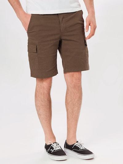 Kronstadt Klapptaskutega püksid 'Hector' pruun, Modellivaade