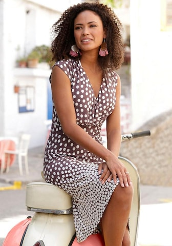 LASCANA Beach Dress in Brown