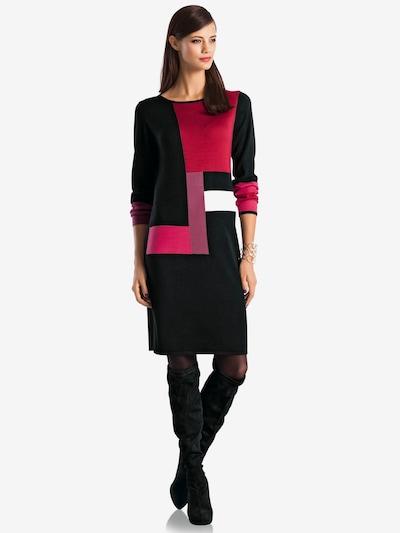 heine Úpletové šaty - červená / černá, Model/ka