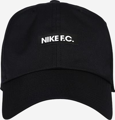 NIKE Sporta cepurīte 'Heritage' melns / balts, Preces skats