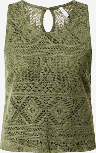 Hailys Top 'Thea' in khaki, Produktansicht