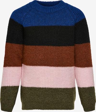 KIDS ONLY Pullover 'Konjade' in blau / dunkelblau / grau / pink / dunkelrot, Produktansicht