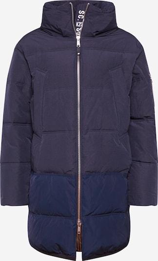 Žieminis paltas 'Long quilted down jacket' iš SCOTCH & SODA , spalva - nakties mėlyna, Prekių apžvalga