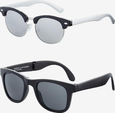 NAME IT Sonnenbrille in schwarz / weiß, Produktansicht