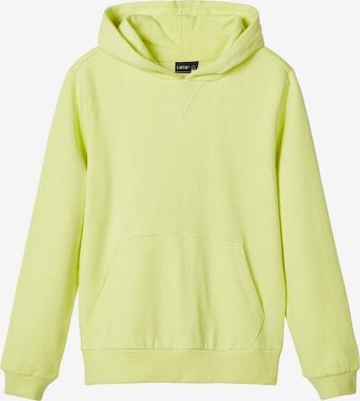 LMTD Sweatshirt in pastellgelb, Produktansicht