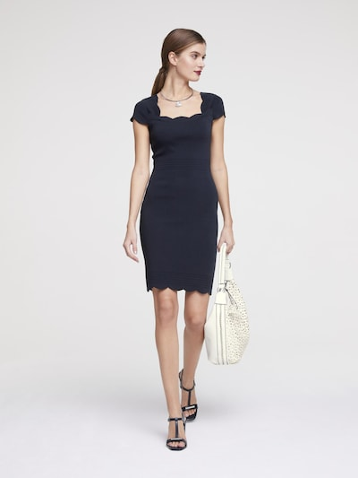 heine Pletené šaty - námornícka modrá, Model/-ka
