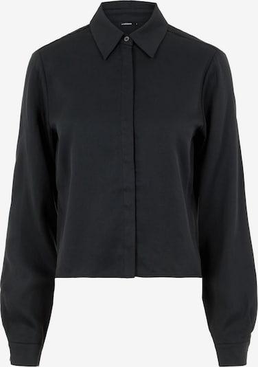 J.Lindeberg Mallory Cropped Hemd in schwarz, Produktansicht