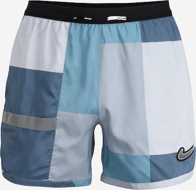 NIKE Sport-Hose 'Flex Stride Wild Run' in blau / grau, Produktansicht