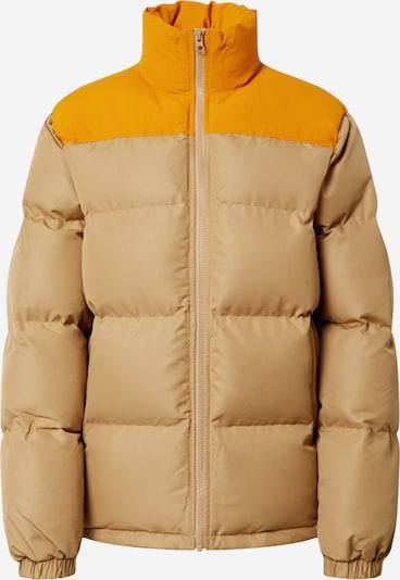 CONVERSE Winterjas 'Puffer' in de kleur Bruin / Mosterd, Productweergave
