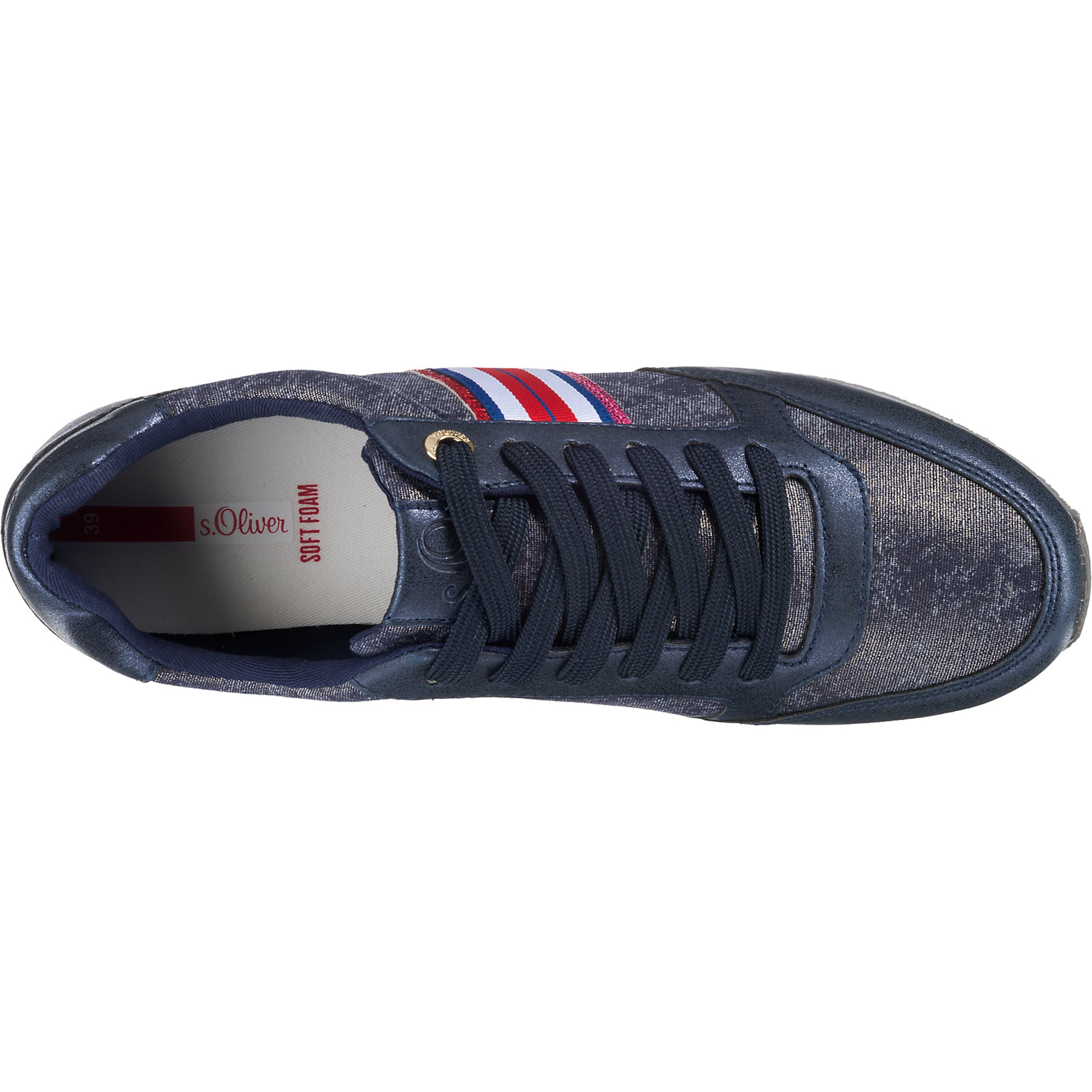Navy oliver Red S Sneakers Label In nNk8OXZ0wP