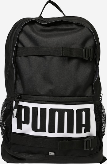 PUMA Rucksack 'Deck' in schwarz / weiß, Produktansicht