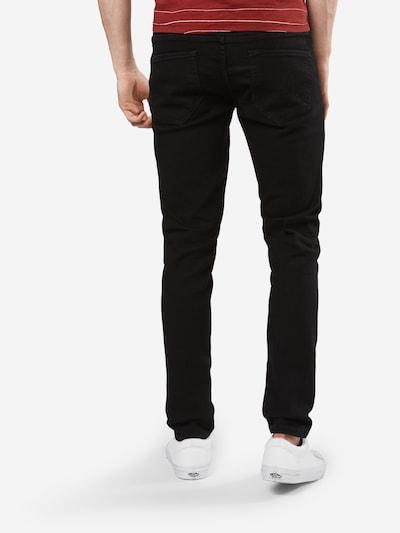 Only & Sons Jeans 'onsWARP BLACK P PK 8822 NOOS' in de kleur Black denim: Achteraanzicht