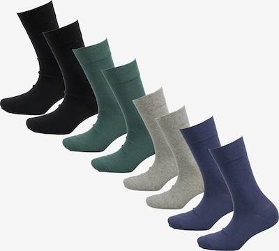 s.Oliver Online Unisex essential Socks 8p in blau, Produktansicht