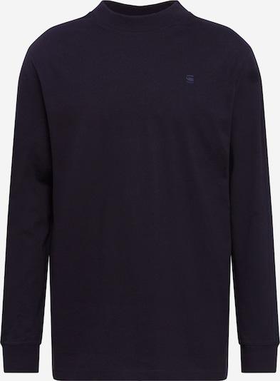 G-Star RAW Shirt 'Korpaz mock' in de kleur Zwart, Productweergave