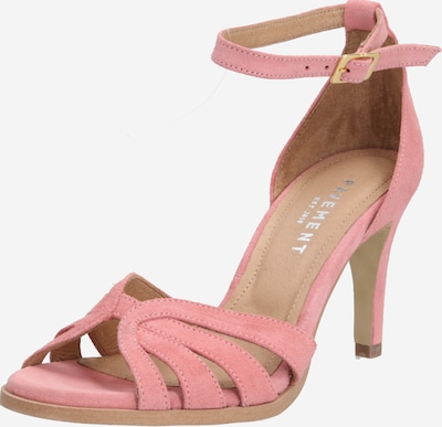 PAVEMENT Sandalen met riem 'Melissa' in de kleur Abrikoos / Rosa, Productweergave
