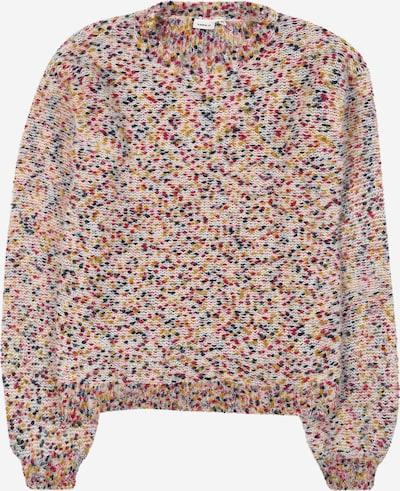 NAME IT Pullover 'Naura' in mischfarben / weiß, Produktansicht