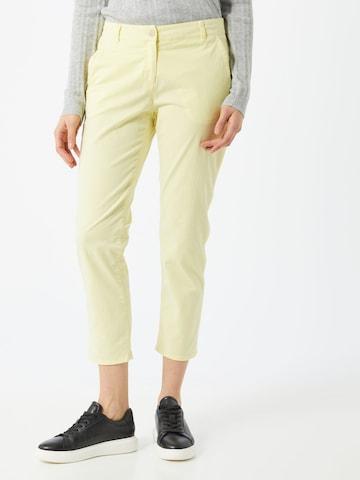 BRAX Chino Pants 'RHONDA S' in Yellow