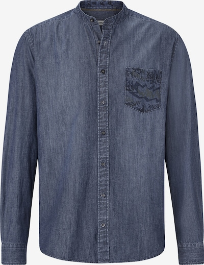 Shirtmaster Jeanshemd 'Funkydenim' in blue denim, Produktansicht