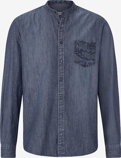 Shirtmaster Overhemd 'Funkydenim' in de kleur Blauw denim, Productweergave