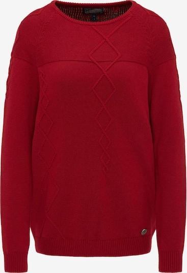 DREIMASTER Pullover in dunkelrot, Produktansicht