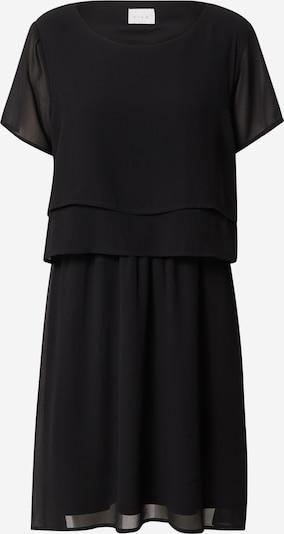 VILA Kleid 'ISSI' in schwarz: Frontalansicht