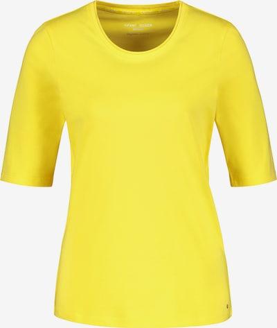 GERRY WEBER T-Shirt 1/2 Arm Basic Shirt organic cotton in gelb, Produktansicht
