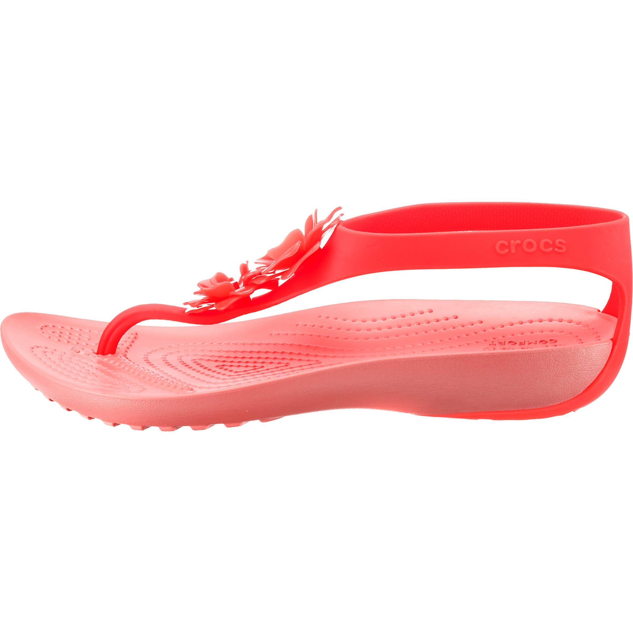Flip W' In Embellish Crocs 'serena Koralle Sandale KJcFTl1