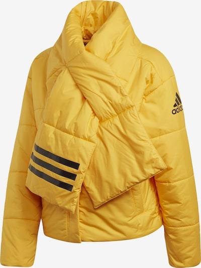 ADIDAS PERFORMANCE Outdoorjacka 'Big Baffle' i gul / svart, Produktvy