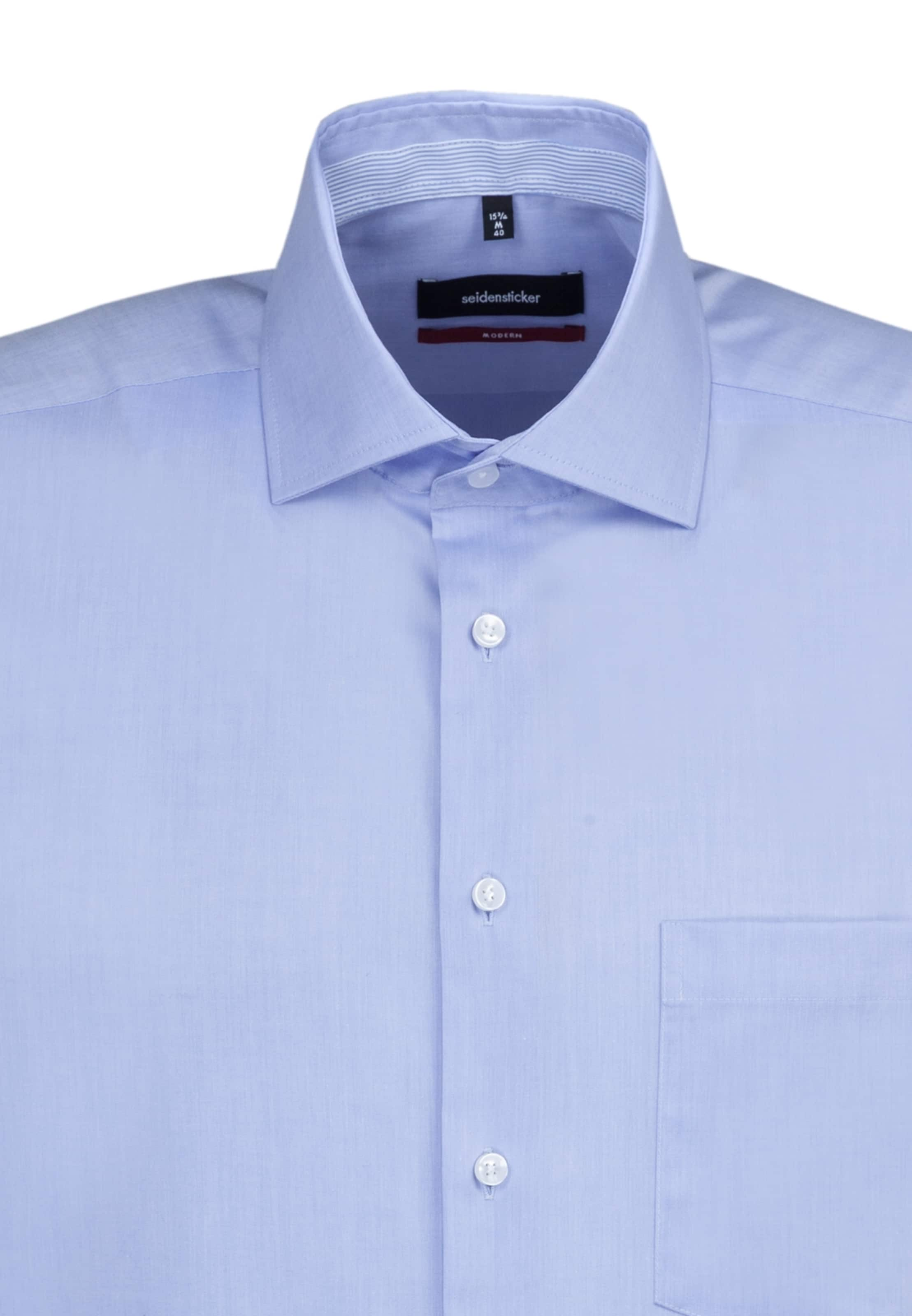 Hemd 'modern' In Blau Seidensticker 'modern' Seidensticker Hemd In Blau W29YDIEH